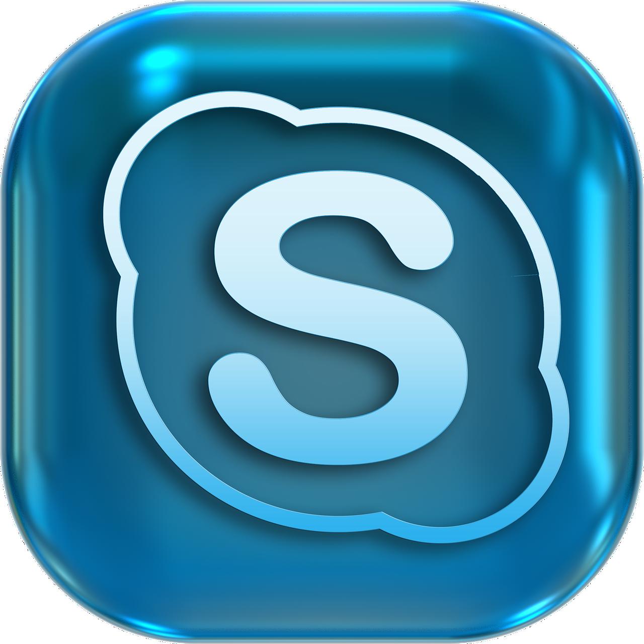 icons, symbols, skype
